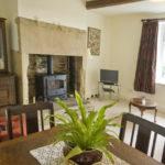 Sunny lounge dining room