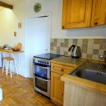Fully equipped entrance kitchen